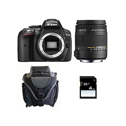 Nikon D5300 + SIGMA 18-250 DC OS MACRO + SD 4Gb