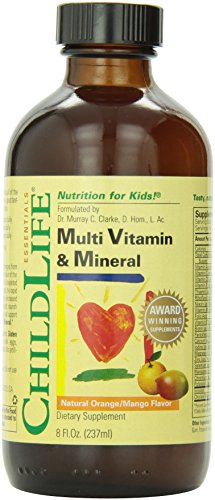 Child Life Multi Vitamin und Mineral, 230 ml (Flüssige Vitamine Multi)