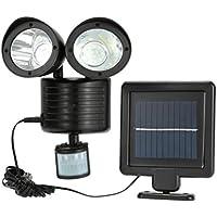 MagiDeal 2 pcs Tragbare Solarbetriebene LED Licht Solarlaterne Solar Lampe mit Fernbedienung