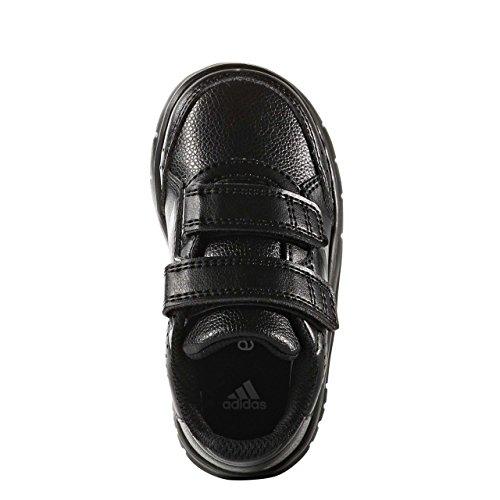 adidas Altasport Cf, Sneakers Basses Mixte Enfant, Rose Bonbon, 25 EU core black/core black/ftwr white