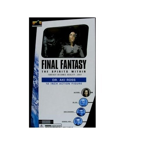 Final Fantasy: The Spirits Within, Fantasy Becomes Reality: 2001 (Dr. Aki Ross) 12 Action Figure by Palisades