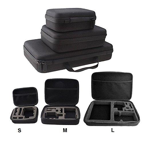 GUANHE 2,58,9cm stoßfest wasserdicht Portable Speicherlösung Carry Power Bank Schutzhülle Festplatte Tasche für GoPro HD Hero 3+ 241, S (Tasche Bank)