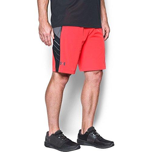 Under Armour HeatGear Supervent Trainingsshort Herren Marathon Red/ Anthracite