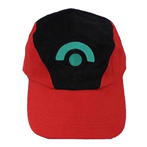 Pokemon Satoshi Ash Ketchum Season 3 Diamond&Pearl Baseball Cap Hat Cosplay Prop Basecap