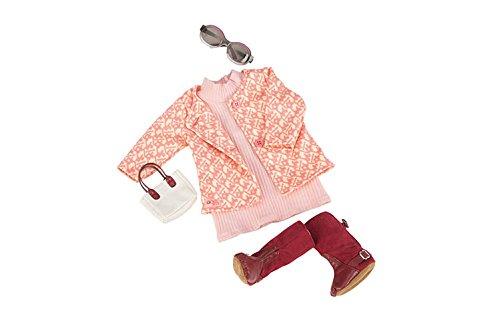 Nuestra Generación 70.60020(Rosy imagen Deluxe Retro muñeca Outfit