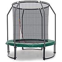 Preisvergleich für Ampel 24 Deluxe Outdoor Trampolin 183 cm komplett mit innenliegendem Netz, Belastbarkeit 120 kg, Sicherheitsnetz mit 6 Gepolsterten Stangen