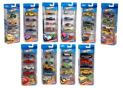 Hot Wheels 5-er Geschenkset Muscle-Cars - Toon´d Muscle R0692