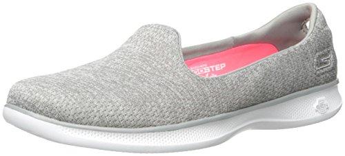 Skechers Performance Women's Go Step Lite-Dynamik Walking Shoe, Gray Heather, 9 M US