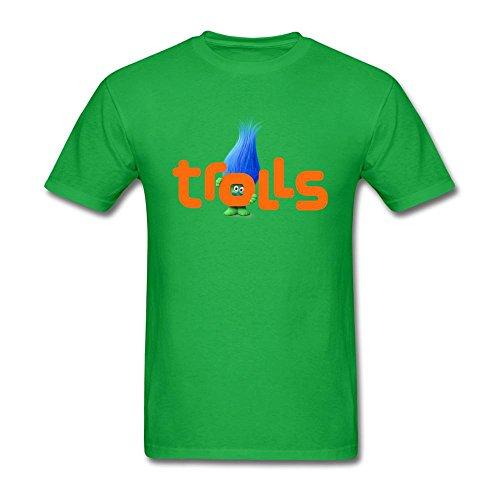 sljd Hombres trols de la buena suerte diseño T Shirt