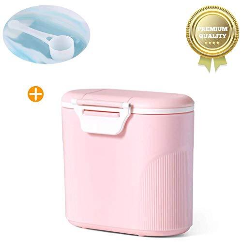 milchpulver aufbewahrung,Milchpulver-Spender,Tragbarer Baby Milchpulver Behälter,milchpulver container mit Gleichmacher 600ML -