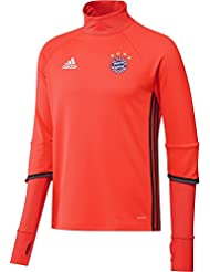 adidas FCB TRG TOP -Sweatshirt - Ligne Bayern FC pour Homme, Rouge