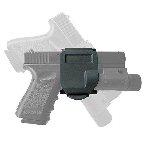 H Welt EU Tactical MOLLE 360 CP Stil GLOCK Gun Clip Holster Für G17 G19 Schwarz (Glock 19 Holster Clip)