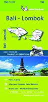 Michelin Bali: Lombok Road and Tourist Zoom Map 190 par Michelin