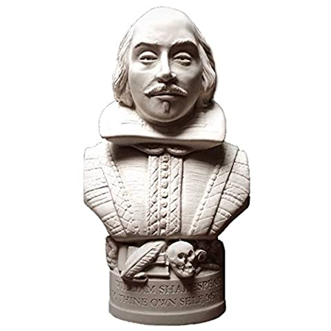 William Shakespeare Bust Famous Faces Collection (height 12cm)