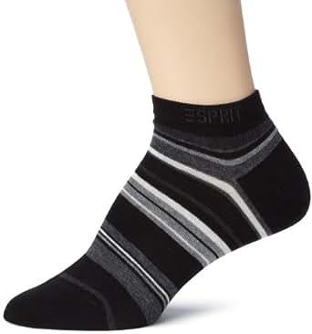 ESPRIT - 18815 Multi Stripe Sneaker - Chaussettes - femme - noir.v9 - 35-38