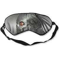 Sleep Eye Mask Skull Artwork Lightweight Soft Blindfold Adjustable Head Strap Eyeshade Travel Eyepatch E2 preisvergleich bei billige-tabletten.eu