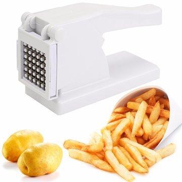 Nueva productkitchen patatas chips cortador máquina de corte de tira patatas cortador picador dicer–Rallador Shredder