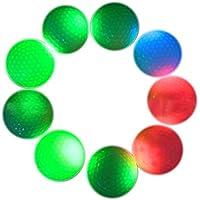 Espeedy LED Pelota de golf,LED Pelotas de golf Intermitente Iluminar Intermitente Color Night Training Golf Practice Ball