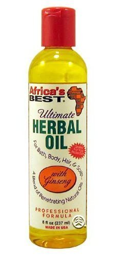 Ultimate Herbal Oil - Revitalise les cheveux secs, assoiffés et peaux Pour les cheveux, le bain et le corps.