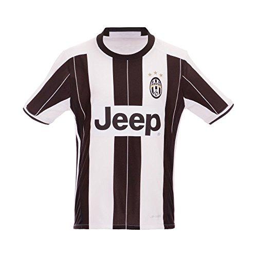 New Season Juventu Paul Pogba Gianluigi Buffon Giorgio Chiellini Claudio Marchisio Home Football Soccer Jersey in Weiß für Kinder Jugend Kid xl weiß (Jersey Weiß Jugend Home)