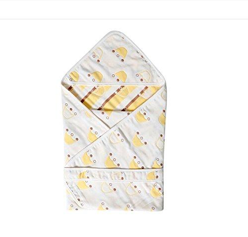 Artic Winter Liner (Classic Comfort Wickeltuch/Decke mit Kissen für Neugeborene Baby 90x 90cm: Länge: 90cm, Anzug Jahr: 0–6Jahre Crown 6 layers)