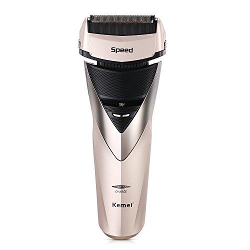 Elektrischer Rasierer Herren Elektrorasierer Bart Trimmer für Männer Folienrasierer Wasserdicht IPX7 Wet und Dry