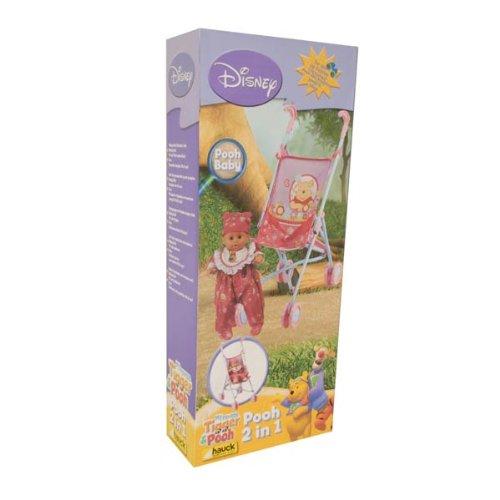 Disney Puppenwagen und Puppe Hauck Winnie the Pooh 2in1