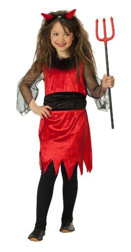 Rubies 1 2422 164 - Kostüm kleine Teufelin Größe (Kleines Halloween Mädchen In)