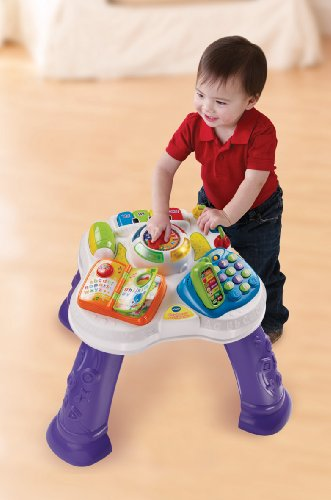 Image of VTech Baby Play and Learn Activity Table - Multi-Coloured