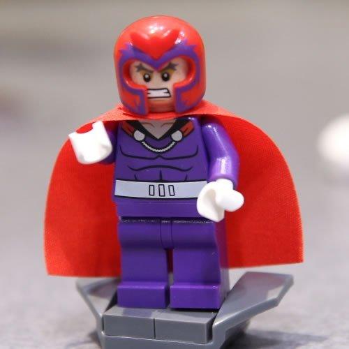 Lego Marvel X-men magneto Minifigura 2014