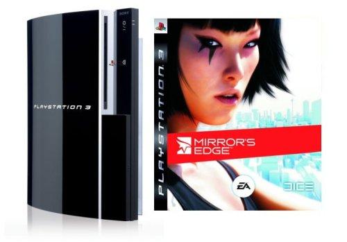 Playstation 3 - Konsole 80 GB inkl. Dual Shock 3 Wireless Controller + Mirror's Edge (Ps3 80 Gb Konsole)