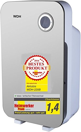 Purificatore d'aria, scrubber aria, filtro antipolline WDH-220B