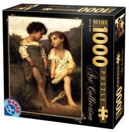 D-Toys Puzzle Puzzle Puzzle - Au Bord du Ruisseau de William-Adolphe Bouguereau - 1000 Pièces | Pas Cher  6a3407