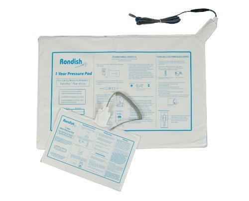 Rondish Bett-Sensormatte für Sprechendes Alarmsystem zum Schutz vor Stürzen -