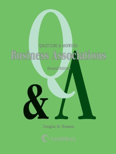 questions-answers-business-associations-2nd-second-edition-by-douglas-m-branson-published-by-lexisne