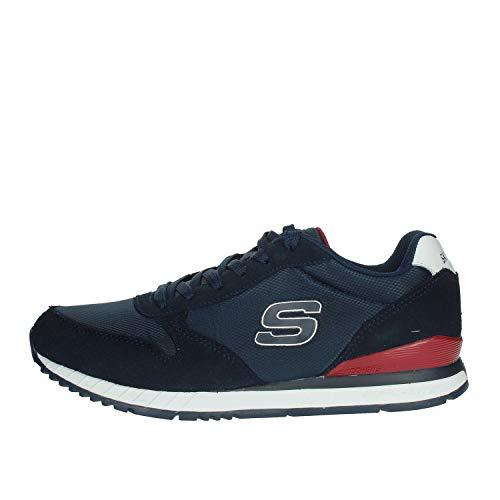 Skechers sneakers uomo - sunlite - waltan - 52384-nvy - navy-43