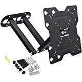 RiaTech Full Motion Articulating TV Wall Mount Bracket For 14-37 Inch TVs 180 Degrees Swivel Rotatable Bracket Weight Capacity- 20kg