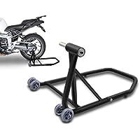ConStands Single Béquille d'atelier Triumph Speed Triple/ R noir mat, Monobras adaptateur inclus