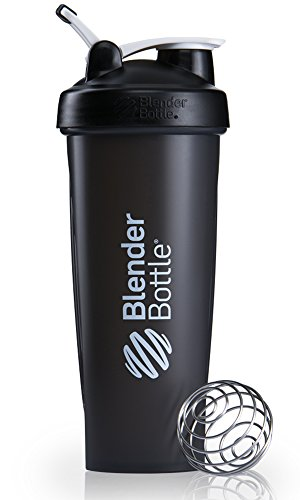 Blender Bottle Classic Loop - Protéine Shaker / Bouteille d'eau avec poignée de transport noir 940ml