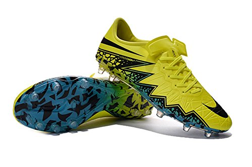 demonry Schuhe Herren Hypervenom phinish Neymar FG gelb Fußball Fußball Stiefel 54 gelb