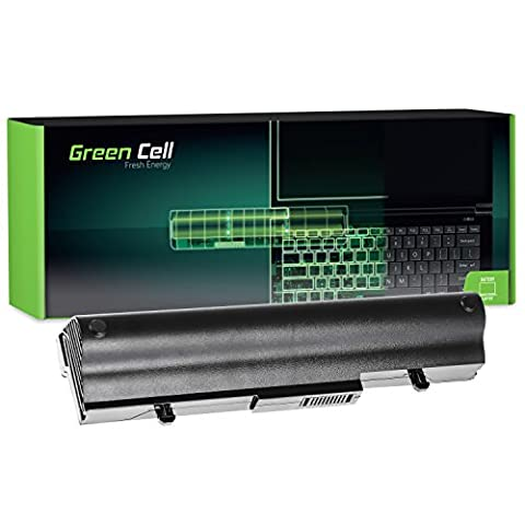 Green Cell® Extended Série AL32-1005 Batterie pour Asus Eee PC 1001 1001HA 1001PX 1001PXD   1005 1005H 1005HA 1005P 1005PXD   R101 Ordinateur PC Portable (9 Cellules 6600mAh 11.1V Noir)