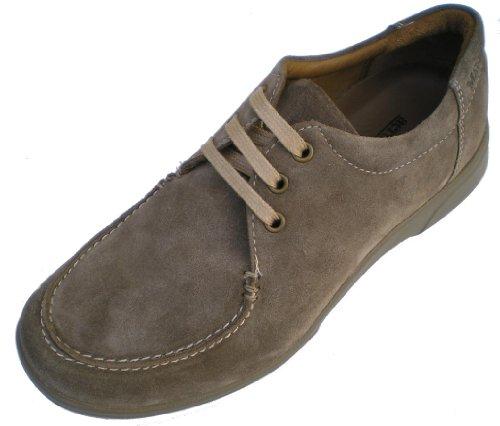 Manz, 130050-02, Herren,Schuhe zum Schnüren, Leder Braun