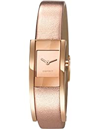 Esprit Damen-Armbanduhr Lacey Analog Quarz Leder ES107352002