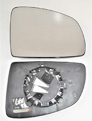 Pro!Carpentis Spiegel Spiegelglas rechts beheizt Ersatzglas geeignet für elektrische und manuelle Aussenspiegel kompatibel mit MERIVA von 05/2003 bis 05/2010