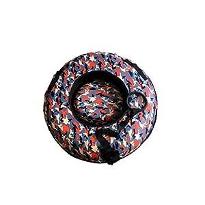 BFQY FH Ski Ring, Aufblasbare Snow Tube Kinder Erwachsene Erhöhen Dicken Verschleißfesten Ski Ring, Multi-Color-Auswahl