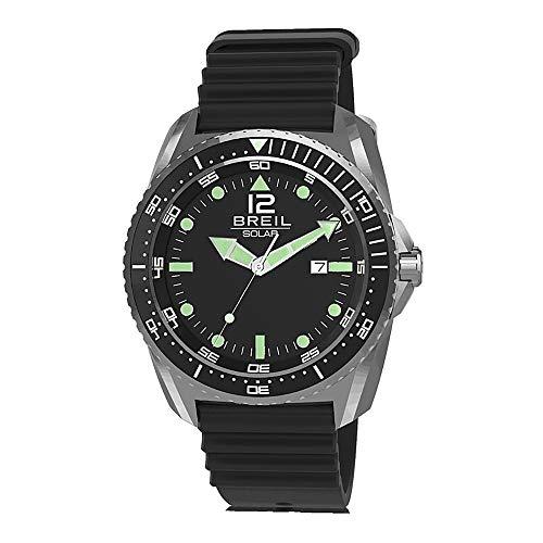 BREIL Reloj SUBACQUEO SOLARE Hombre Sólo el Tiempo Caucho - TW1756