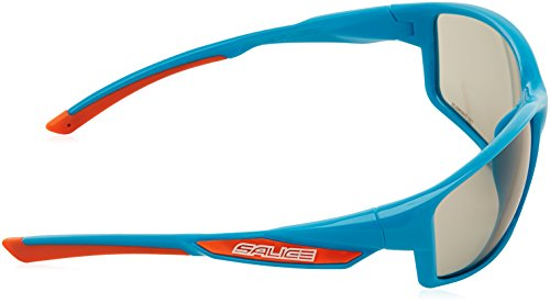 Salice 014 CRX Occhiali, 014 CRX, bianco/arancio blu