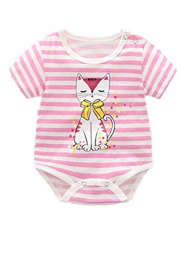 Aoweika Unisex Baby Body Alles Gute zum Geburtstag, Mama Strampler liebevoll Bedruckt Glückwunsch Kurzarm Body mit Aufdruck Bequem für Party, Zuhause, Wandern
