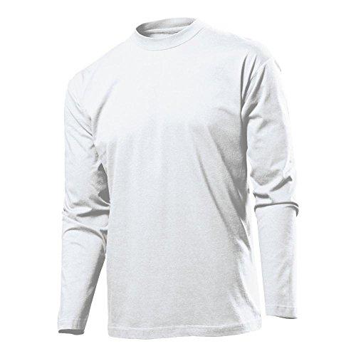 Stedman - Herren Langarmshirt 'Classic LS' White