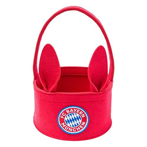 FC Bayern München Osterkorb Filz, rotes Osterkörbchen FCB - Plus Lesezeichen I Love München